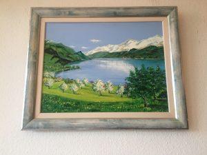 17. Bergsee 2007 64x94 Öl