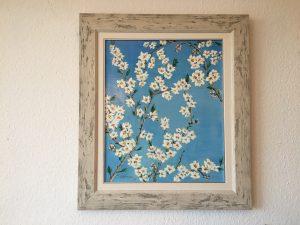 25. Mandelblüte 2004 45x54 Acryl