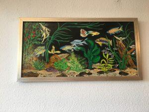 31. Aquarium G 2004 78x39 Acryl