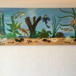 33. Aquarium M 2004 130x50 Acryl