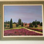 4. Landschaft 2006 91x72 Acryl