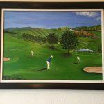 5. Golf 2016 100x70 Öl