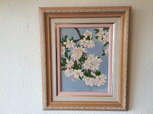 53. Mandelblüte 29x39 Acryl