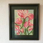 57.Oleander 1997 29x39 Öl