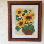 58. Sonnenblume 1998 30x40 Aquarell
