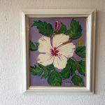 64. Hibiskus 1997 37x45 Acryl