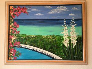 7. Meer und Pool 2003 130x97 ÖL