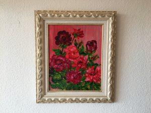 73 Rosen 2001 31x40 Acryl