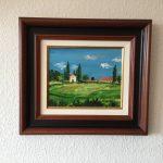 74. Bauernhof 2001 26x21 Acryl