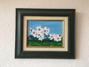 81. Mandelblüte 2007 21x15 Acryl
