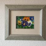 83. Stiefmütterchen 1997 16x11 Acryl