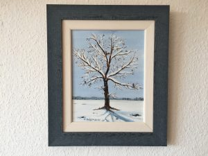 85. Winter 2007 23x29 Acryl
