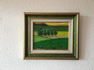 89. Wiesenlandschaft 23x18 Acryl