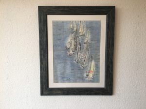 97. Regatta M 2001 41x54 Aquarell