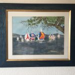 98. Regatta 2001 55x41 Aquarell