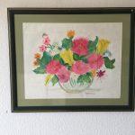 99. Sommerblumen 1998 64x50 Aquarell